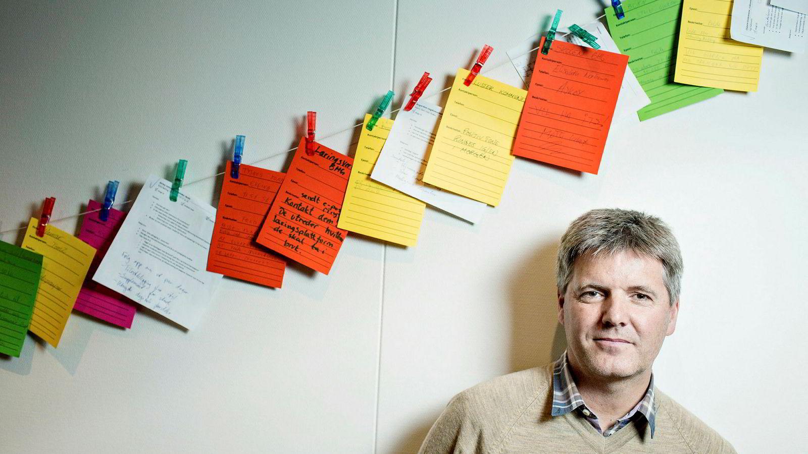 Administrerende direktør Arne Bergby i Itslearning ser lyst på fremtiden til læringsplatformselskapet, selv etter årevis med underskudd.