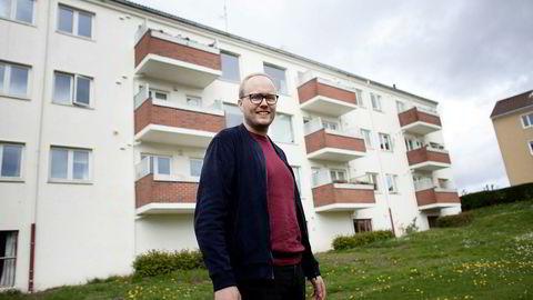 Jens Løkkevik (29) har kjøpt bolig like utenfor Stavanger sentrum. Han og kjæresten skal overta sitt første selveide hjem i juni.