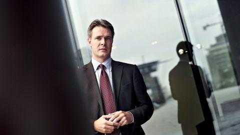 Trym Riksen mener det er urealistisk for Oljefondet å få avkastning på fire prosent i dagens lavrentemiljø. Foto: Elin Høyland