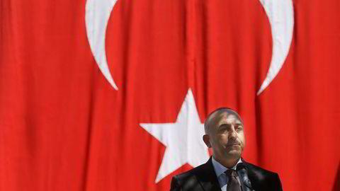 Tyrkias utenriksminister Mevlüt Çavusoglu delte på en direktesendt tv-opptreden at Tyrkia alltid har oppfordret Russland til å gjennomføre felles operasjoner mot IS. Foto: Francisco Seco/NTB Scanpix