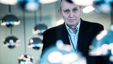 – Vi kjenner hverandre perifert, sier Kjell Grandhagen om Stein Erik Hagen. Foto: Gunnar Blöndal