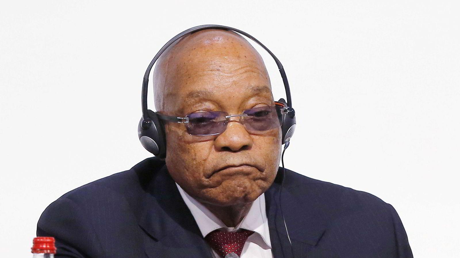 Sør-Afrikas president Jacob Zuma. (AP Photo/Michel Euler-File)