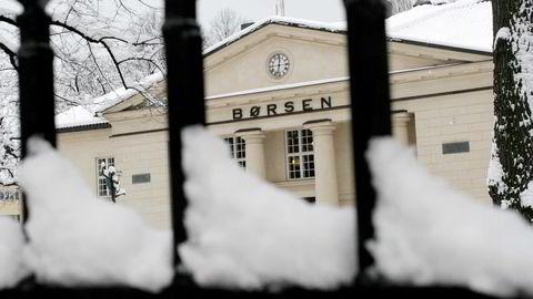 Den siste måneden har det bare vært 58 handler på Oslo Børs. Foto: Gunnar Lier