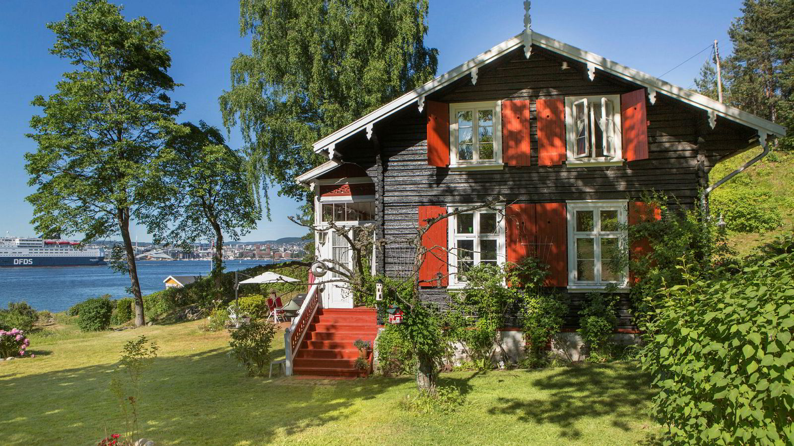 Denne hytta på Lindøya knuste alle tidligere prisrekorder på øya utenfor Oslo.