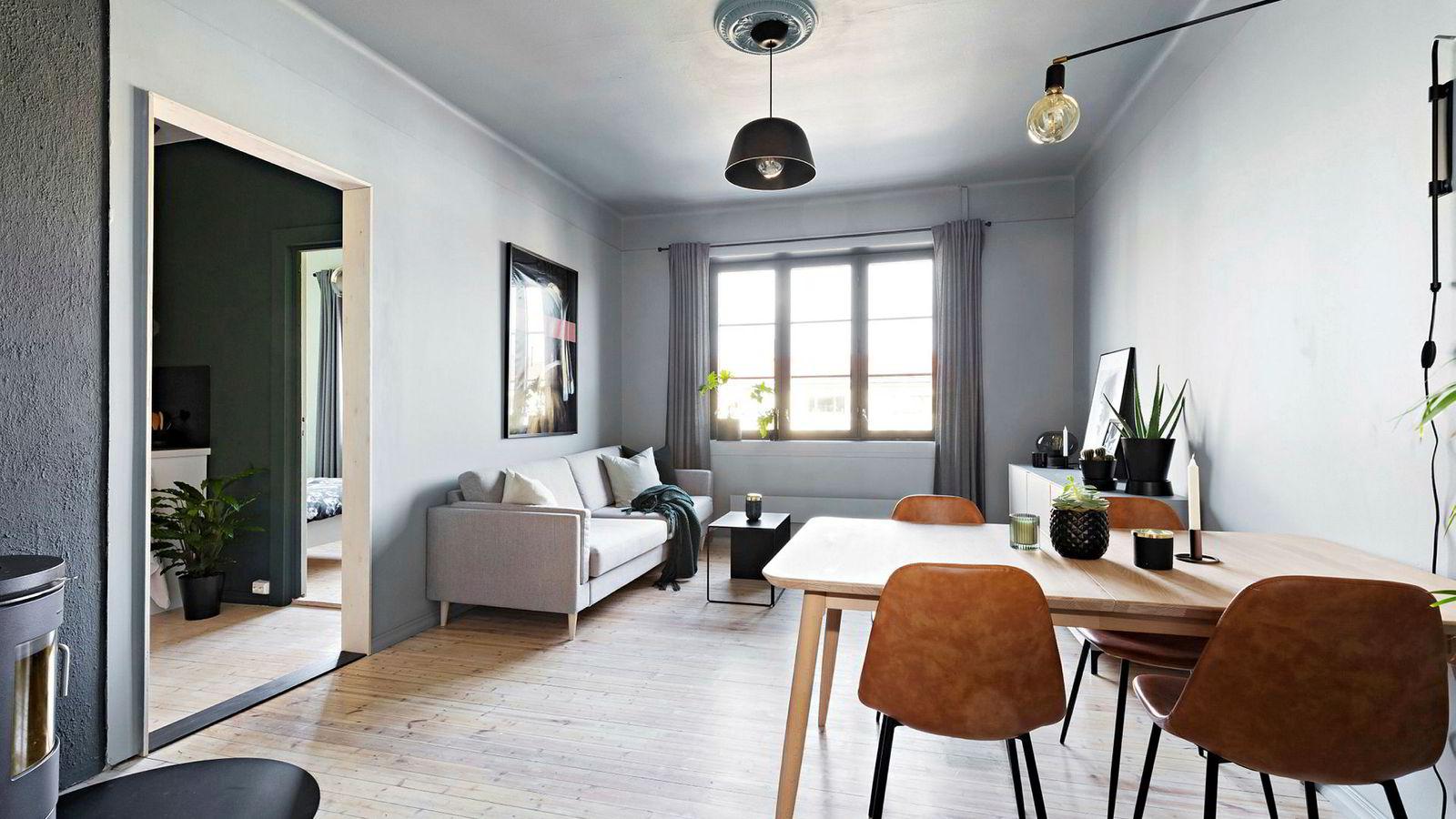 En 56 kvadratmeter stor leilighet i Uelands gate i Oslo med prisantydning på 4,4 millioner ble denne uken solgt for 4,6 millioner kroner før visning.