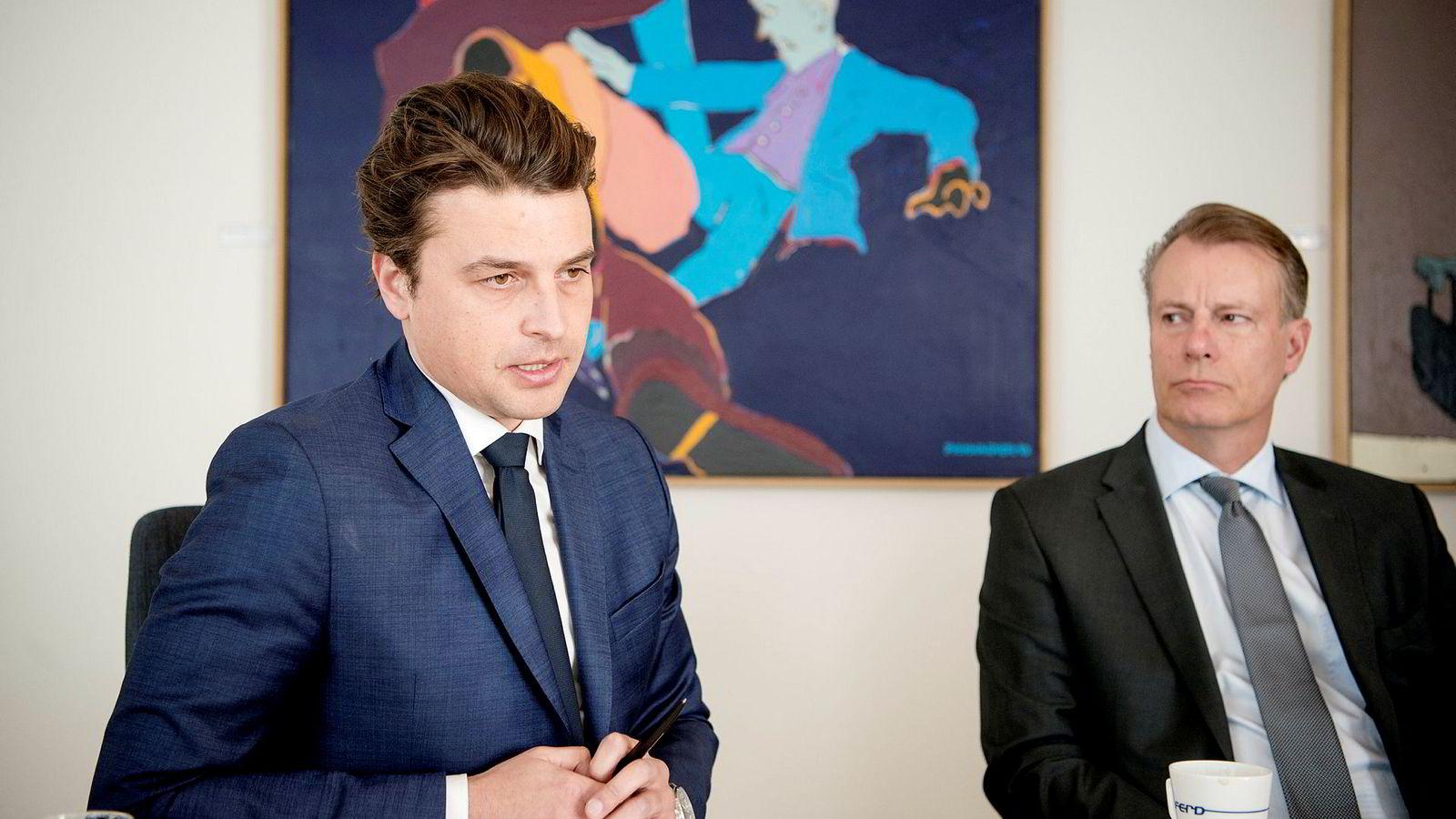 PGS har så langt vært en trist affære for konsernsjef Morten Borge og Ferd-eier Johan H. Andresen.