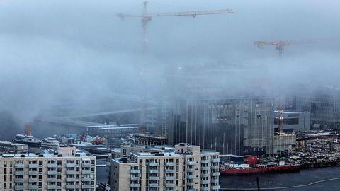 Norges Bank tror boligprisene i Norge vil falle med 1,6 prosent til neste år. Foto: Aleksander Nordahl