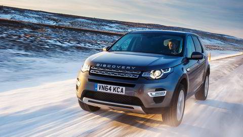 Land Rover Discovery Sport er som skapt for norske hytteveier. Foto: Nick Dimbleby