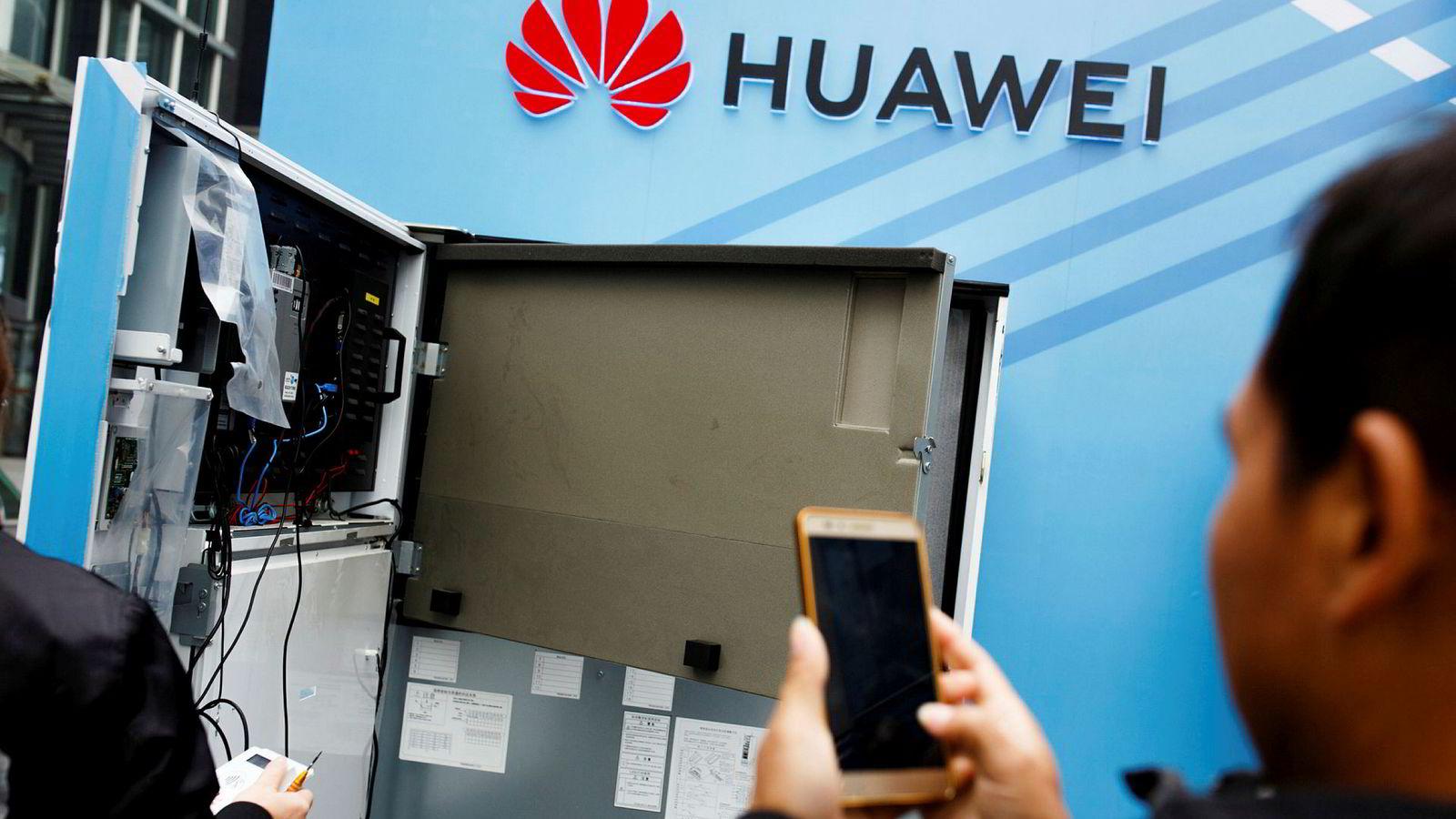Den kinesiske teknologigiganten Huawei har møtt mye kritikk det siste året på grunn av samarbeidet med kinesiske myndigheter.