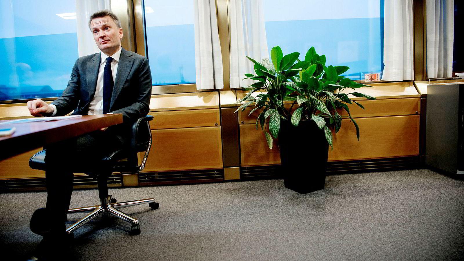 Egil Matsen, visesentralbanksjef om oljeaksjer