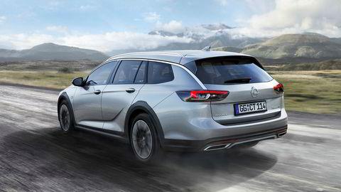 Opel Insignia Country Tourer har slanket seg nesten 200 kilo.