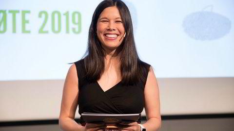 Lan Marie Nguyen Berg, her under MDGs landsmøte tidligere i år, er partiets førstekandidat i Oslo.