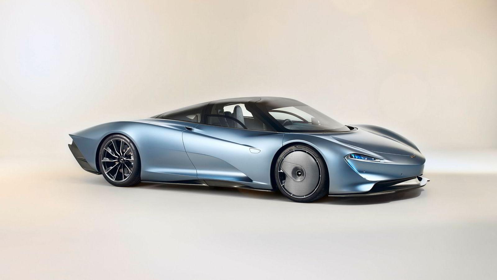 McLaren Speedtail skal bygges i 106 eksemplarer.