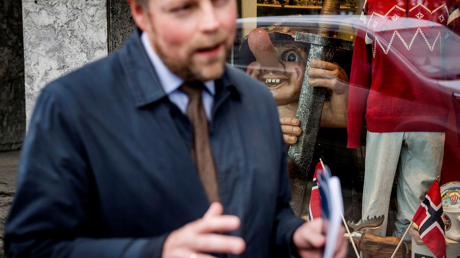 Torbjørn Røe Isaksen (H) tror folk egentlig ikke er imot bompenger som sådan …