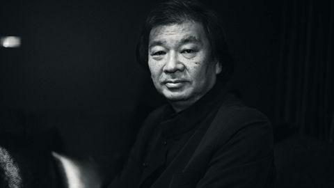 Prisbelønnet. Den japanske arkitekten Shigeru Ban mottok Pritzkerprisen i 2014 for sitt arbeid med arkitektur og mennesker i krise. Foto: Espen Gronli