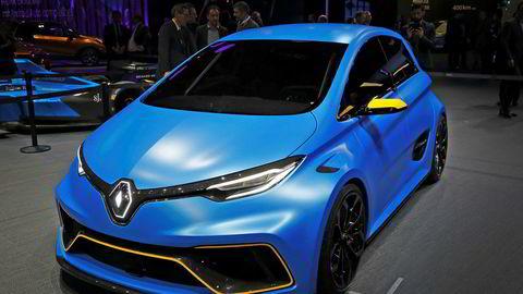 Renault Zoe e-Sport concept er en lekker og sprek versjon av elbilen Zoe.