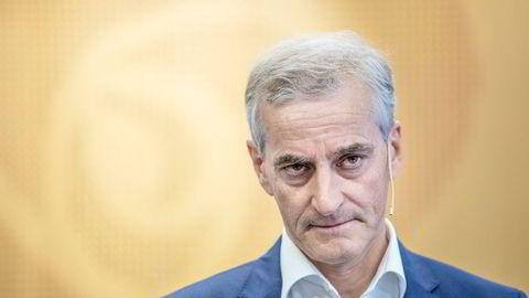 Det er regjeringen som har brutt forliket, skriver Arbeiderpartiets leder Jonas Gahr Støre.