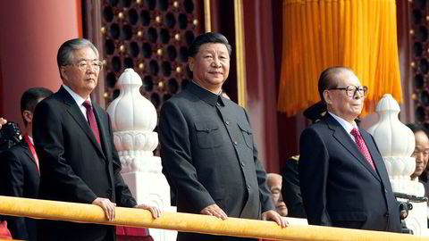 – Det finnes ikke en styrke eller makt som kan stanse det kinesiske folk og den kinesiske nasjonen, sa KInas president Xi Jinping i forbindelse med 70-årsfeiringen av Folkerepublikken Kina på tirsdag