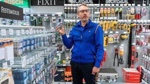 Espen Karlsen, administrerende direktør i Jernia, forbereder seg på at handlemønstrene til kundene vil endre seg fremover.