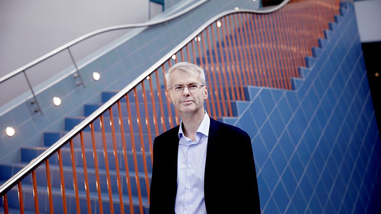 NHH-rektor Øystein Thøgersen overlater styring og oppussing av bygningsmasse til Statsbygg.