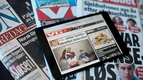 Overgangen fra papir til skjerm ryster mange av de store mediehusene.