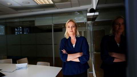 Porteføljeforvalter Cathrine Gether i Skagen Kon-Tiki sitter midt i resultatsesongen og har investorsamtaler med selskaper fondet er investert i.