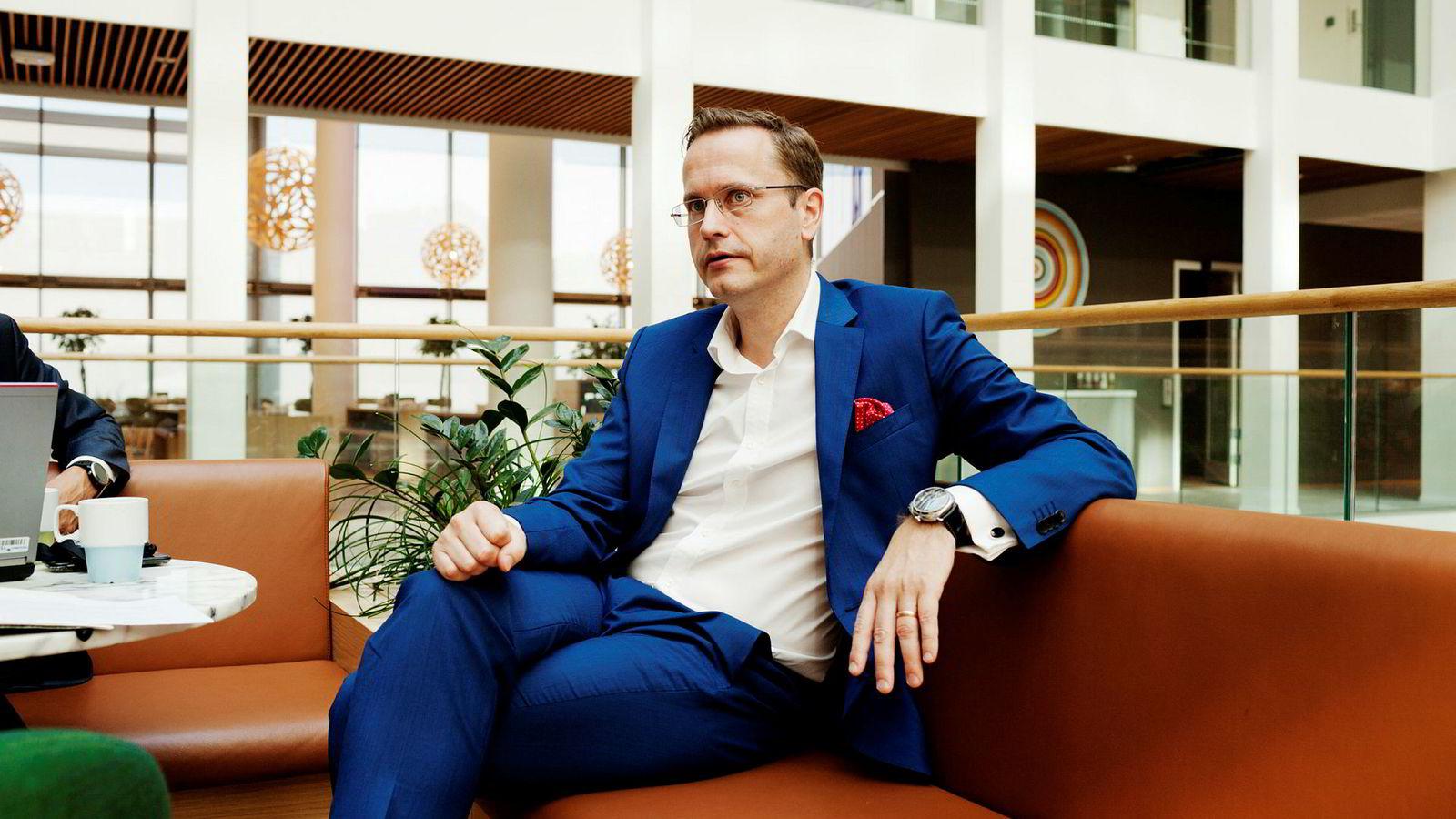 Nordea Norge-sjef Snorre Storset mener alle pilene peker oppover i norsk økonomi.