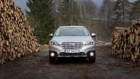 Subarus kjerneverdier er på plass med både fremkommelighet og pålitelighet i den nye Outback. Alle foto: Embret Sæter