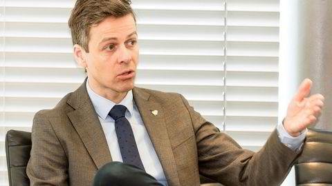 Partileder Knut Arild Hareide er klar på at et rødgrønt flertall gjør KrFs førstevalg umulig.