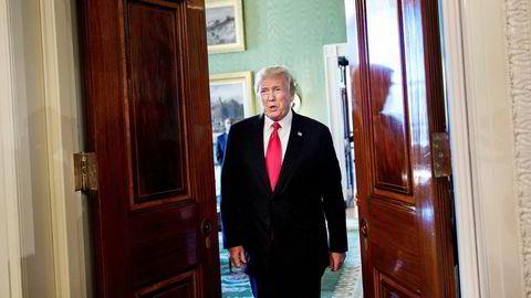 USAs president Donald Trump nekter å gi seg i handelskrigen, og varsler en ny megatoll.