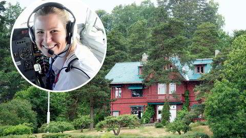 Kjos-datter Anna Helene Kjos kjøper eiendommen i Strandveien 62 på Lysaker i Bærum.