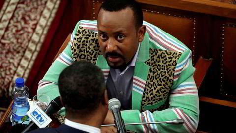 Etiopias statsminister Abiy Ahmed tildeles Nobels fredspris.