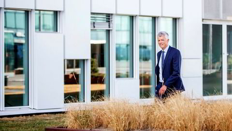 Finansdirektør Hans Jacob Hegge i Equinor la torsdag frem et oljepengespekket andrekvartalsresultat. Han er nå på vei til USA for å ta over som selskapets USA-sjef i september.