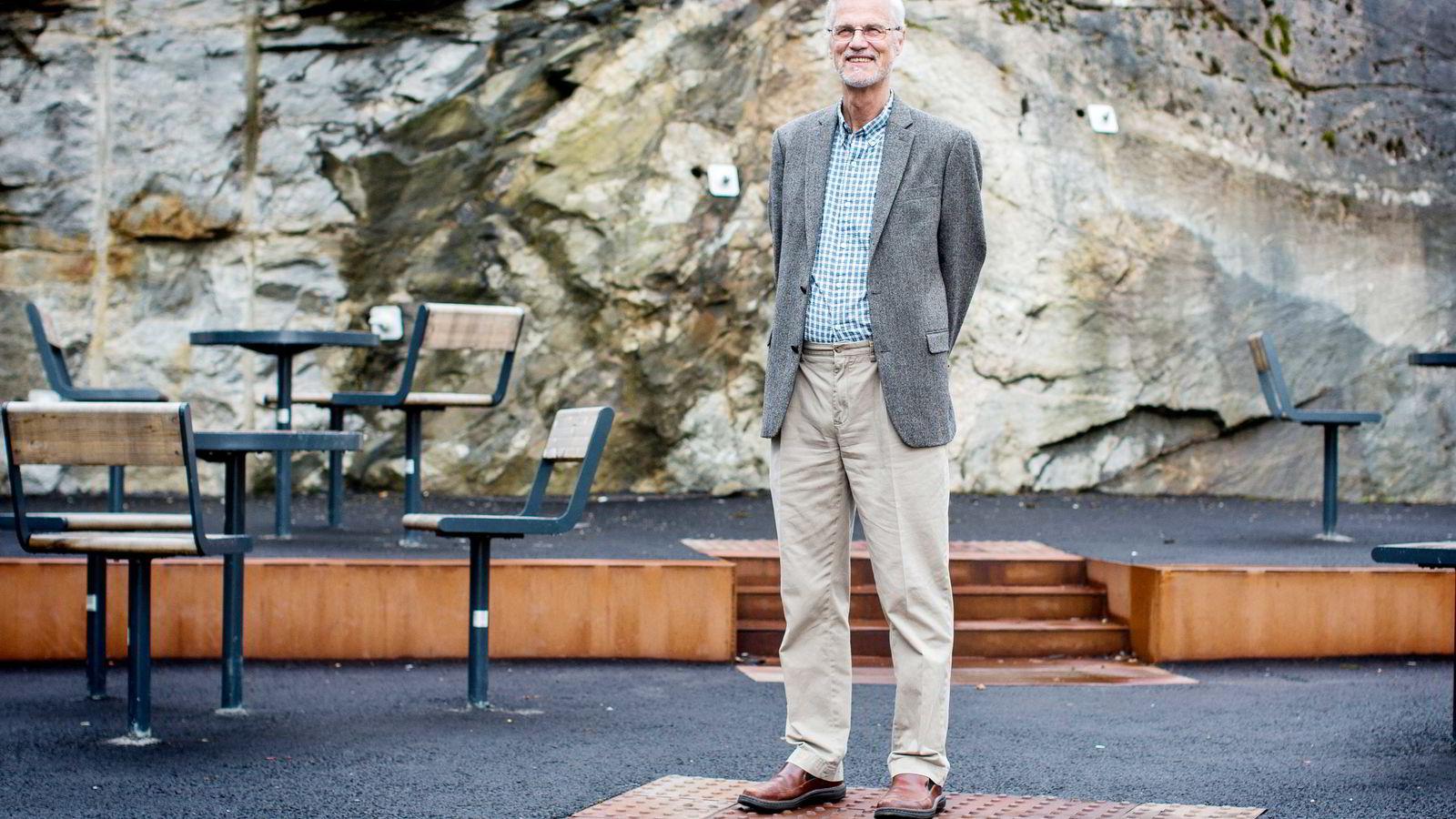 NHH-rektor Frøystein Gjesdal. Foto: