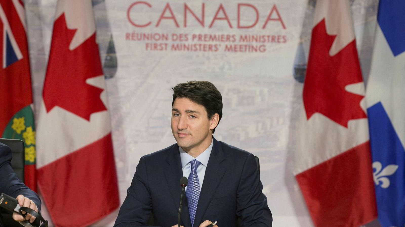 Statsminister Justin Trudeaus forhold til Saudi-Arabia er iskaldt.