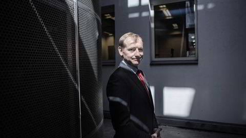 Administrerende direktør Carl O. Geving i Eiendomsmeglerforbundet. Foto: Fredrik Bjerknes