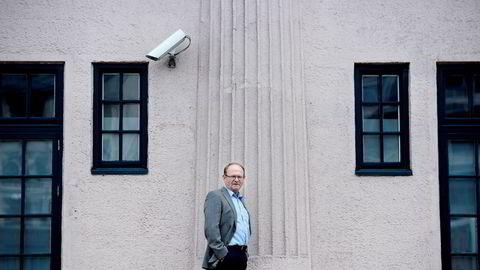 Per Einar Ruud, fagsjef i kredittvurderingsbyrået Bisnode i Oslo, har gjennomført kåringen i samarbeid med DN. Foto: Elin Høyland