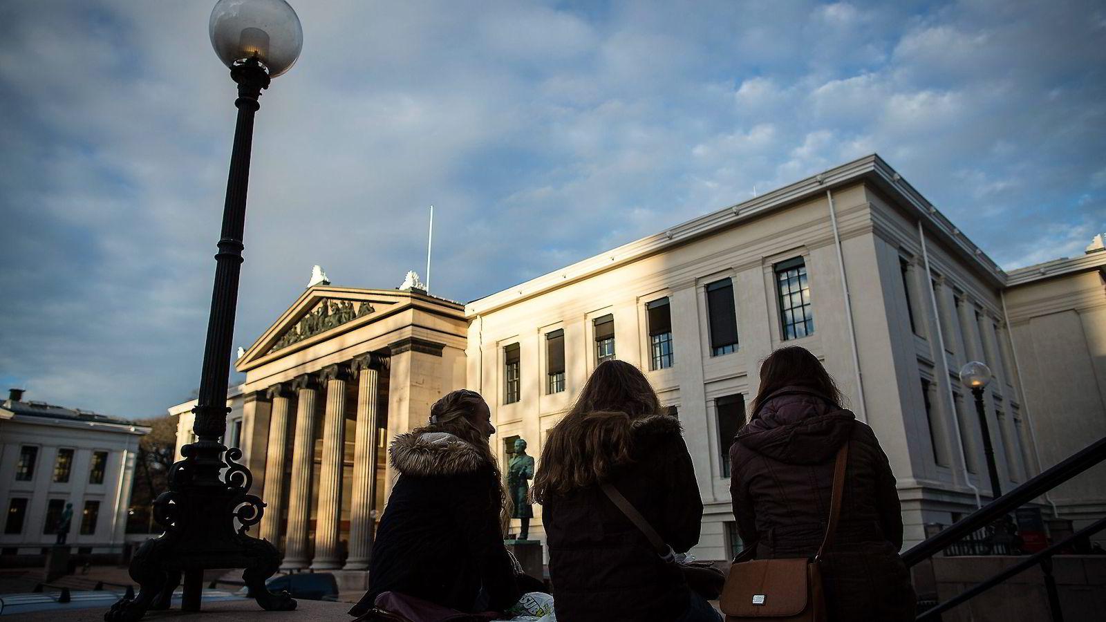 Det juridiske fakultet ved Universitetet i Oslo.