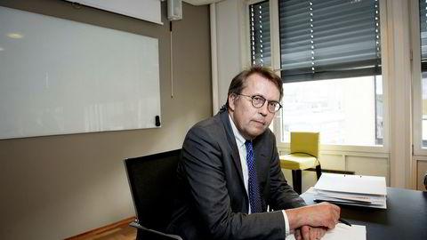 Advokat Harald Christensen i firmaet Føyen Torkildsen bisto Næringsspar da selskapet fikk trøbbel med Finanstilsynet. Foto: Gorm K. Gaare