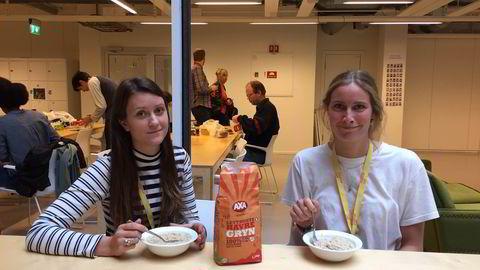 Gründerblogger Mari Hæreid (26) og kollega Agnes Dyvik (26) jobber i Vio, som forsøker å lage et Netflix for magasinjournalistikk. Det gjør de uten lønn