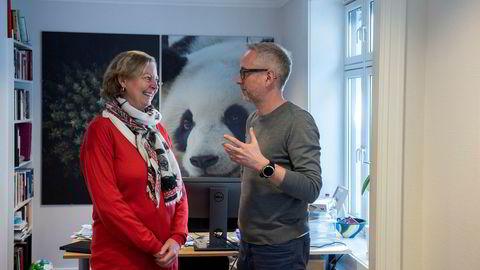 WWF-leder Bård Vegar Solhjell sier at næringslivet kan mer om klima og miljø enn politikerstanden han forlot. Berit Svendsen kommer inn i WWF-styret.