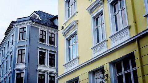Boligprisene i Bergen steg 3,9 prosent i januar. Foto: Eivind Senneset