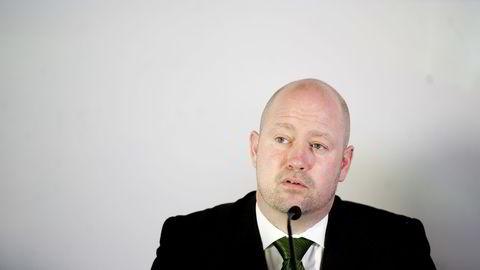 Justis- og beredskapsminister Anders Anundsen (Frp) vurderer å endre loven slik at det blir lettere å inndra formuesobjekter fra kriminelle uten å reise straffesak. Foto: Mikaela Berg