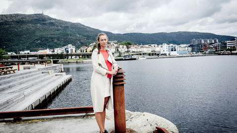 Kari Anne Kamlund (22) er snart ferdig med første året på sivilingeniørstudiet i havbruk og sjømat ved Universitetet i Bergen.