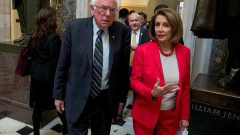 Bernie Sanders og Nancy Pelosi kraftig ut mot at Israel nekter kongresspolitikere innreise.