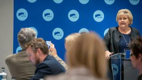 Statsminister Erna Solbergs (H) parti gjorde et svakt lokalvalg. Blant annet mistet det Stavanger, en by som har vært Høyre-kontrollert i over to tiår.