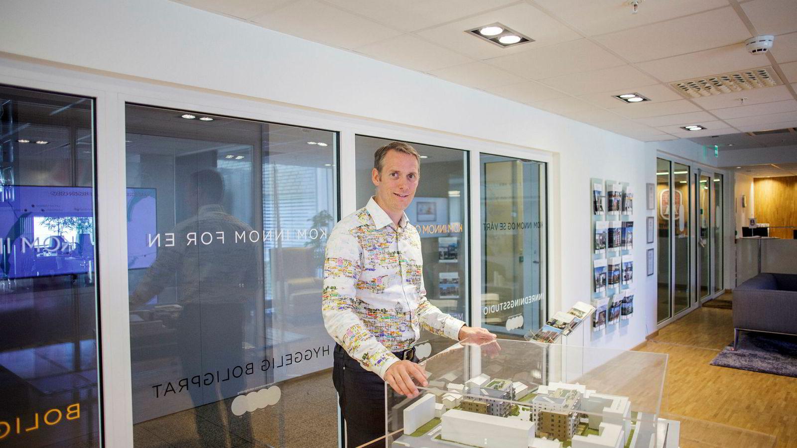 bf2c0cdd Administrerende direktør Martin Asp i JM Norge melder om gode resultater  for tredje kvartal.
