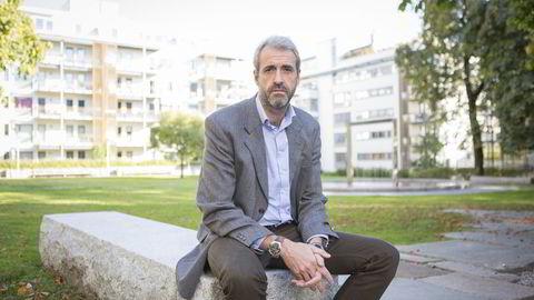 Administrerende direktør Olaf Thommesen i Bedriftsforbundet. Foto: Thorstein Bøe /