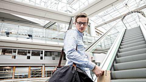 Masterstudent Victor Rolfsnes (23) har A i karaktersnitt fra Handelshøyskolen BI.