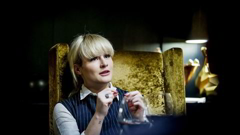 Milliardarving Katharina G. Andresen (22), er i gang med sin nye jobb hos konsulentselskapet EY.